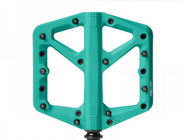 Crankbrothers Stamp 1 Pedaler, Turquoise