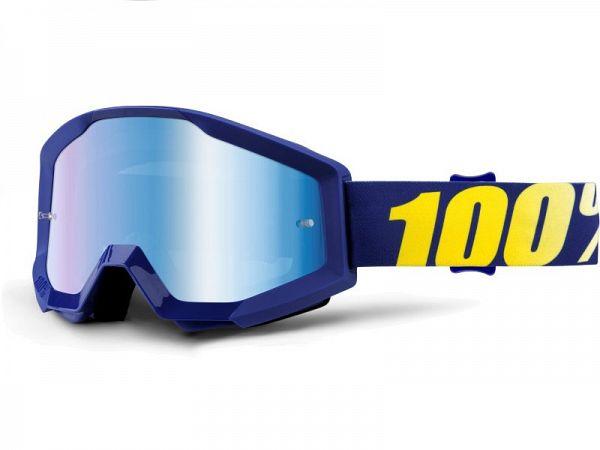 Cross brille - 100% Strata Hope, Mirror Blue Lens