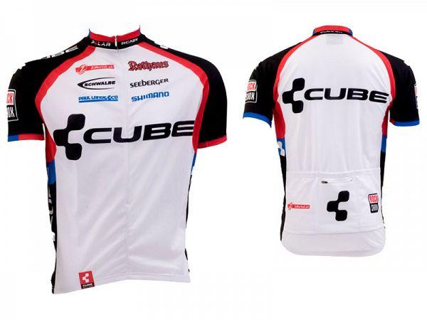Cube 9101 Teamline Kortærmet Cykeltrøje