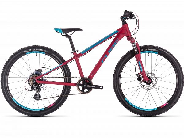 "Cube Access 240 Disc 24"" Berry - Pigecykel - 2020"