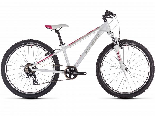 "Cube Access 240 Girl 24"" White - Pigecykel - 2020"