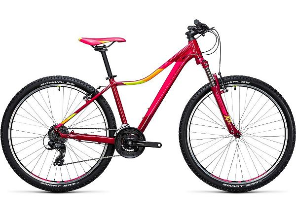 "Cube Access WLS 27,5"" Red - Dame MTB - 2017"
