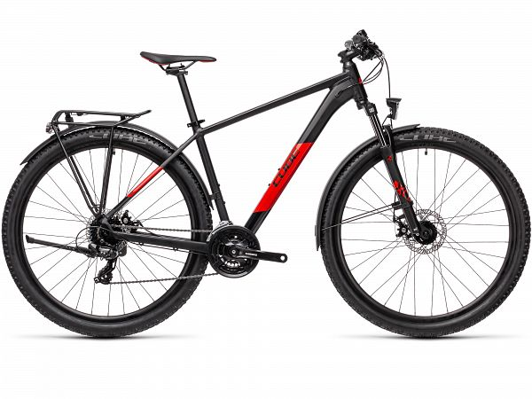 "Cube Aim Allroad 27.5"" Black - MTB - 2021"