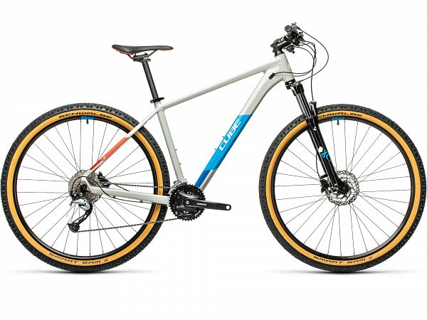 "Cube Aim SL 27.5"" Grey - MTB - 2021"