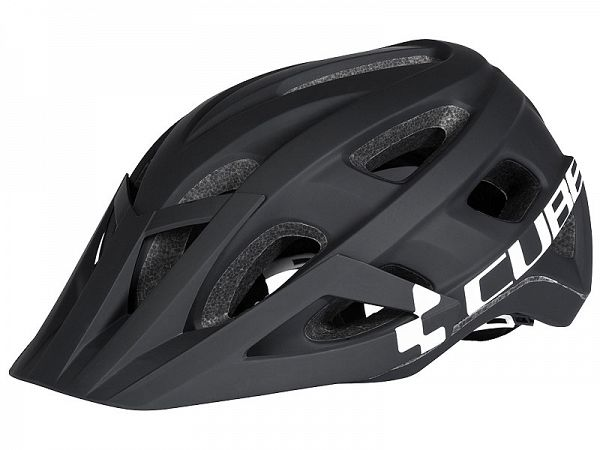 Cube AM Race Black/White Cykelhjelm