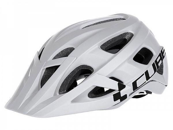 Cube AM Race Cykelhjelm, White/Black