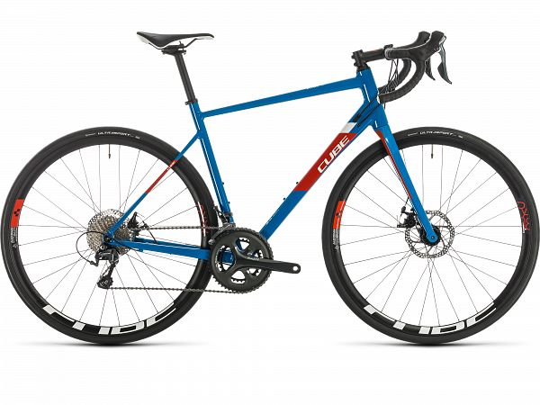 Cube Attain Race Blue - Racercykel - 2020