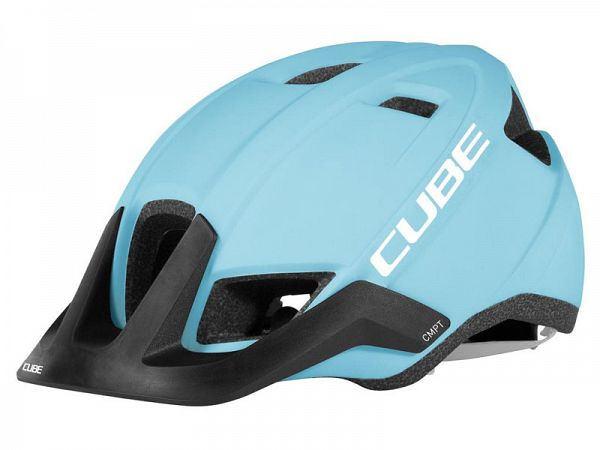 Cube CMPT Cykelhjelm, Iceblue'n'White