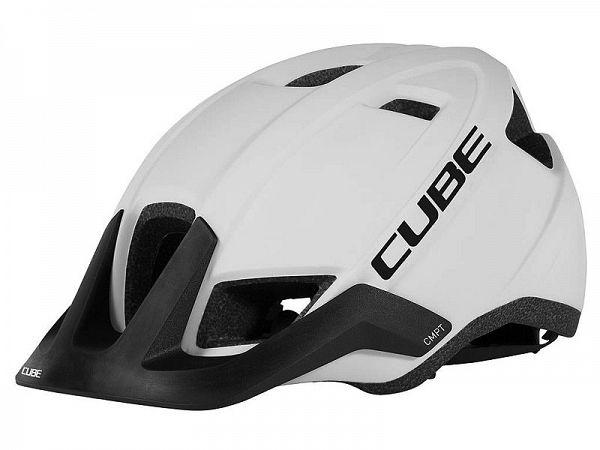 Cube CMPT Cykelhjelm, White'n'Black
