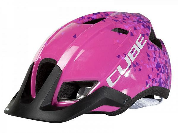 Cube CMPT Youth Pink Triangle Cykelhjelm (54-58 cm)