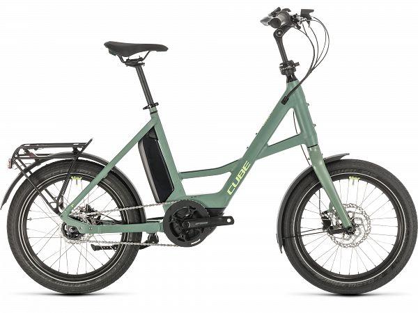 Cube Compact Hybrid Green - Elcykel - 2020