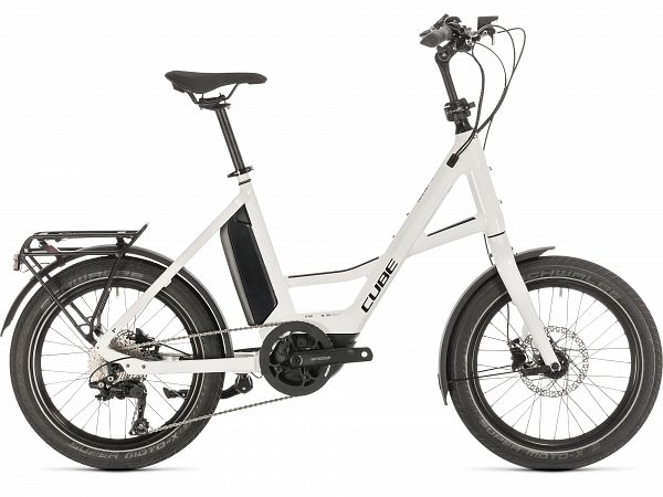 Cube Compact Sport Hybrid White - Elcykel - 2020