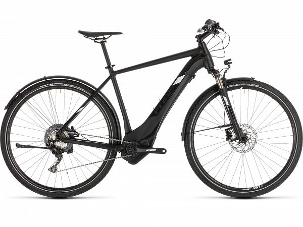 Cube Cross Hybrid Race 500 Black Allroad - eBike - 2019