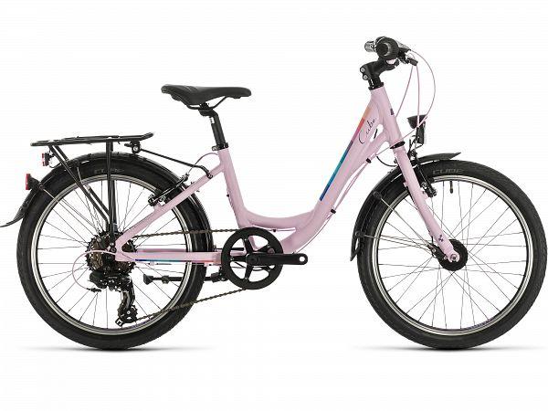 """Cube Ella 200 20"""" Rose - Pigecykel - 2020"""
