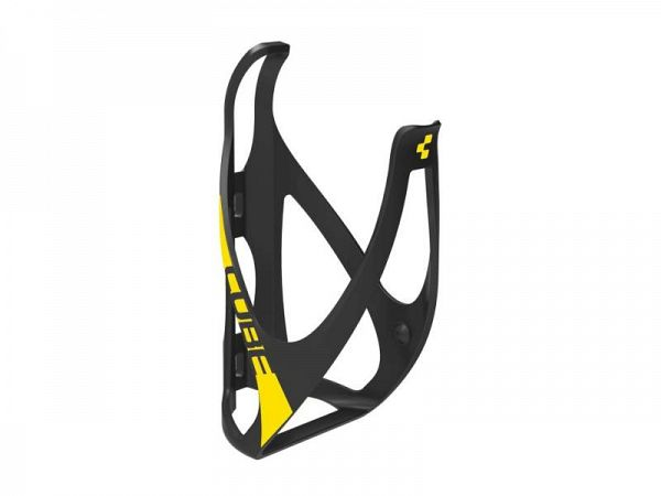 Cube HPP Flaskeholder, Matt Black'n'Flashyellow