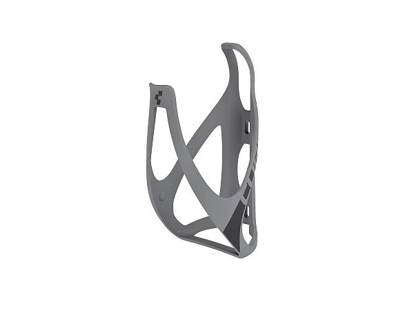 Cube HPP Flaskeholder, Matt Grey'n'Black