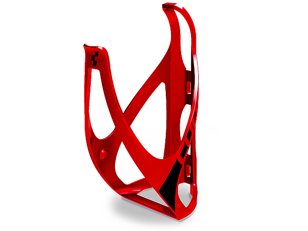 Cube HPP Flaskeholder, Matt Red'n'Black