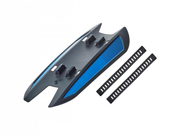 Cube Junior Downtube Mudguard, Black´n´Blue