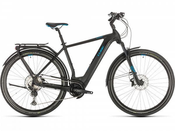 Cube Kathmandu Hybrid SL 625 Black - Elcykel - 2020