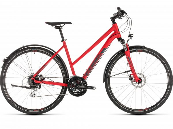 Cube Nature Allroad Red - Damecykel - 2019