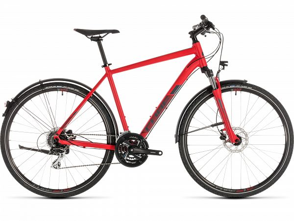 Cube Nature Allroad Red - Herrecykel - 2019