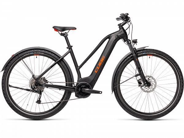 Cube Nature Hybrid One 500 Allroad Black - Elcykel - 2021