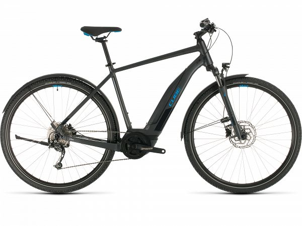 Cube Nature Hybrid ONE 500 Allroad Iridium - Elcykel - 2020