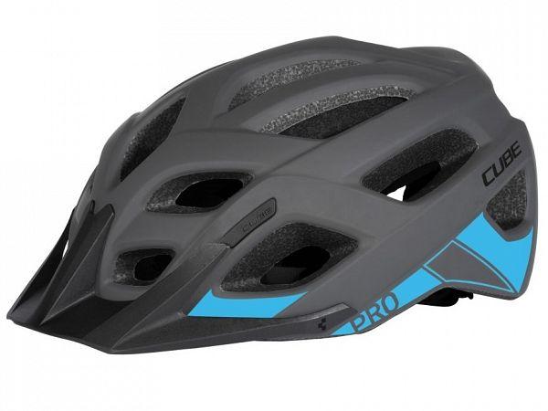 Cube Pro Cykelhjelm, Grey'n'Blue