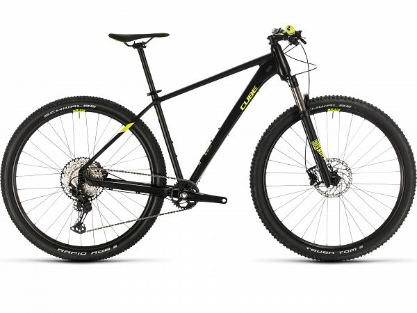 "Cube Reaction Pro 27.5"" Black - Mountainbike - 2020"