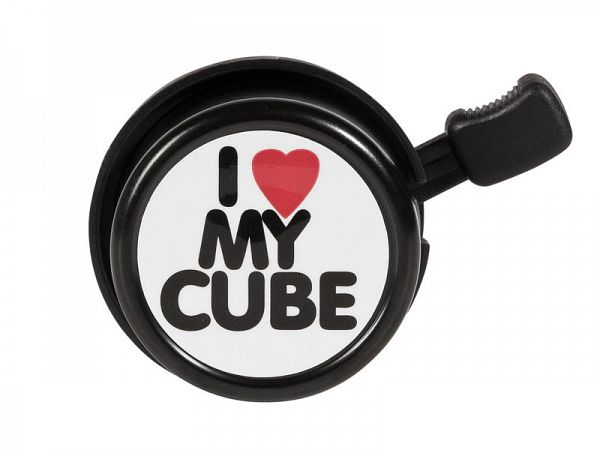 "Cube Ringeklokke ""I LOVE MY CUBE"""