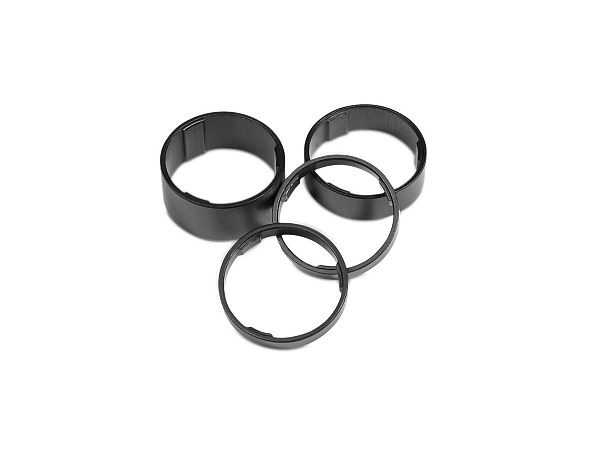 Cube Spacer Set, Black