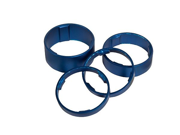 Cube Spacer Set, Blue