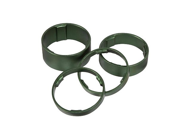 Cube Spacer Set, Green
