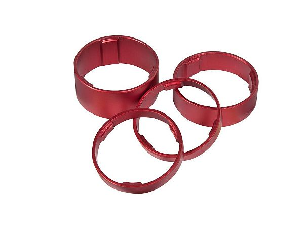 Cube Spacer Set, Red