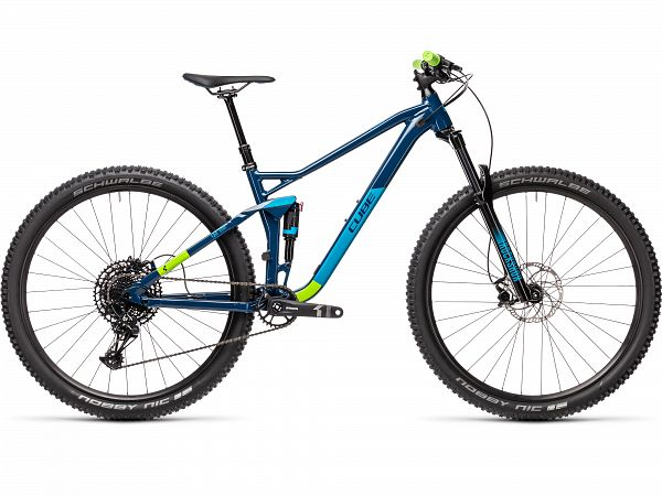 Cube Stereo 120 Pro Blue - Full Suspension - 2021