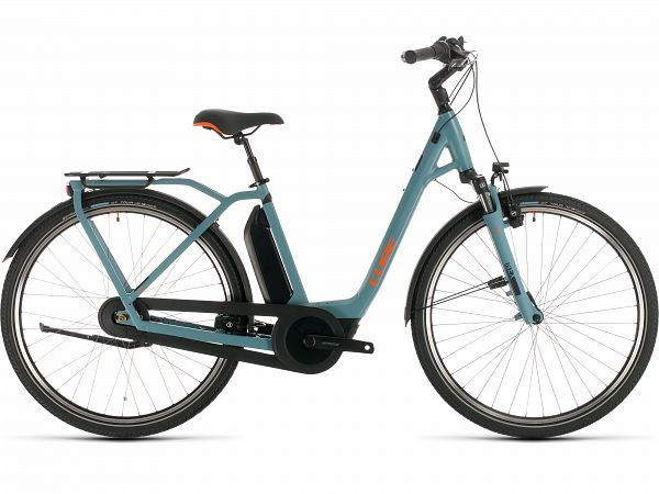 Cube Town Hybrid Pro 500 Blue - Elcykel - 2020