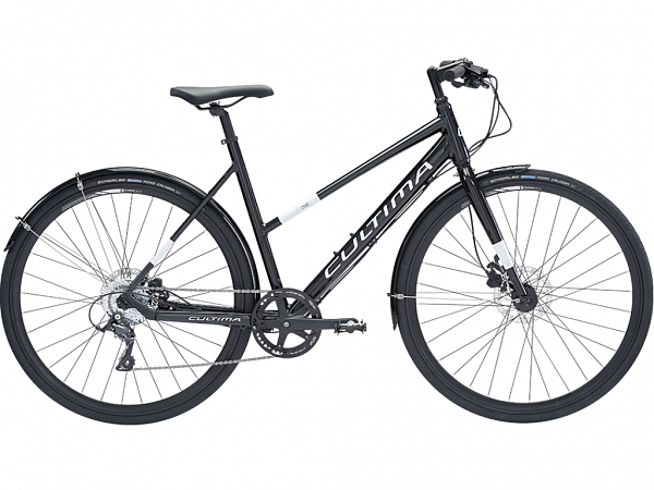Cultima SportOne 8 Black - Damecykel - 2019