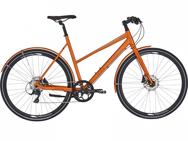 Cultima UrbanOne 9 Pearl Orange - Damecykel - 2019