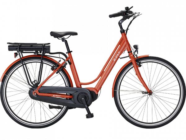 E-Fly Nova Max III Orange - Elcykel - 2020
