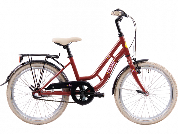 "Ebsen Hippie 20"" Red - Pigecykel - 2021"