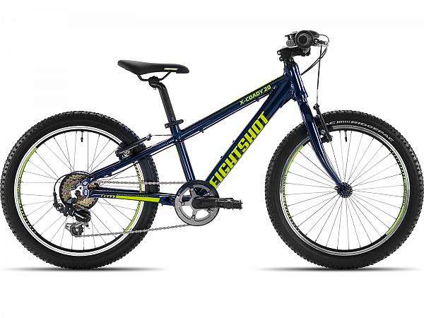 """Eightshot X-Coady Blue 20"""" - Børnecykel - 2020"""