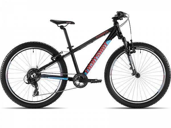 """Eightshot X-Coady FS Black/Blue 24"""" - Børnecykel - 2021"""