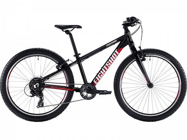 """Eightshot X-Coady SL Black 24"""" - Børnecykel - 2020"""