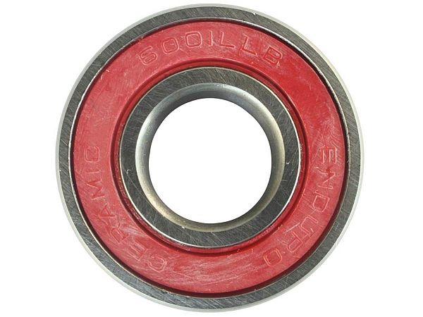 Enduro 6001 LLB Ceramic Kugleleje, 12x28x8mm