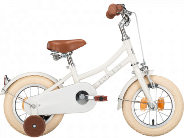 "Excelsior Little Mate 12"" White - Børnecykel - 2021"