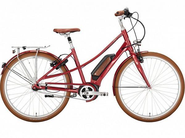 Excelsior Vintage E Queensred - Elcykel - 2021
