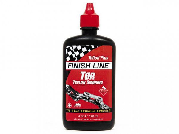 Finish Line Dry Lube Teflon Tør Kædeolie, 120ml