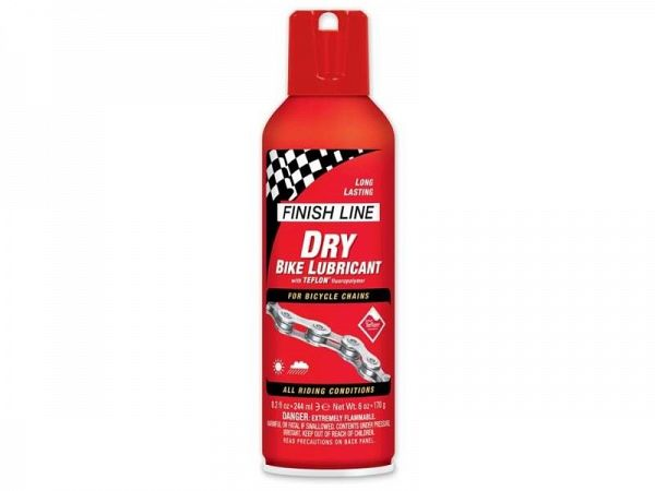 Finish Line Dry Lube Teflon Tør Kædeolie, 240ml
