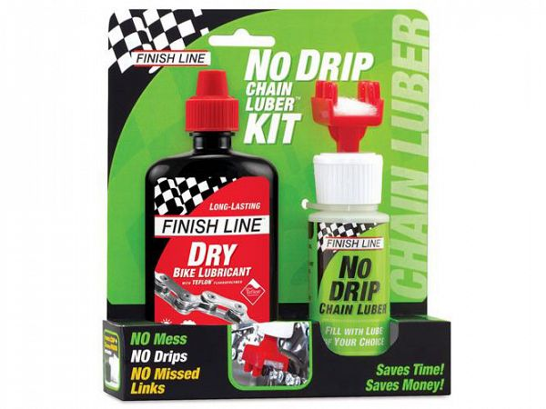 Finish Line No Drip Teflon Lube Tør Kædeolie, 120ml