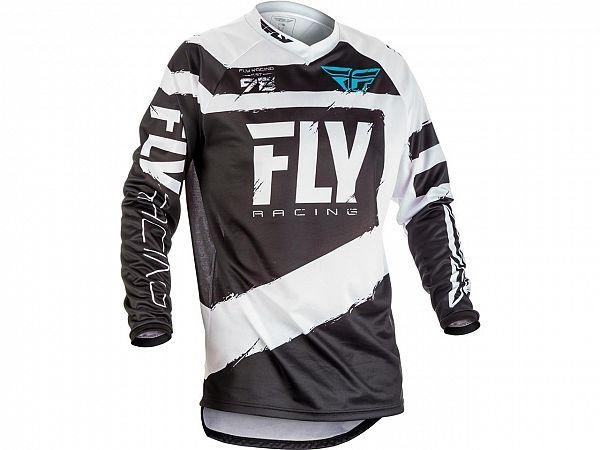 Fly F-16 Jersey Black/White Trøje